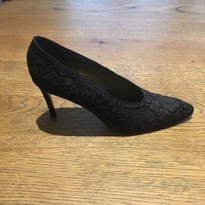 Vintage Black Yves Saint Laurent heels